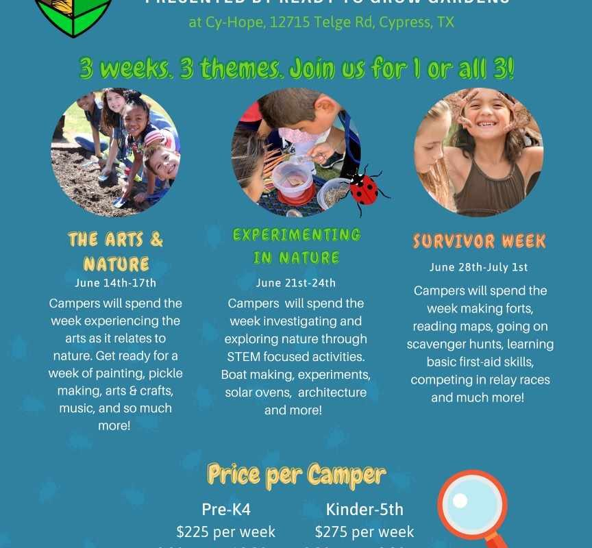Nature Discovery Camps 2021